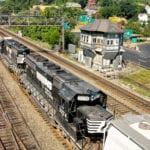 Helper Locomotives in Altoona